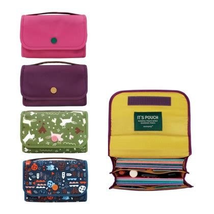 Longch Pouch With Handle 1 monopoly bankbook pouch with handle fallindesign