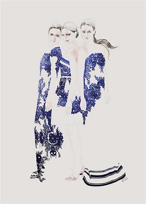 fashion illustration valentino fashion series wierzbicka illustration