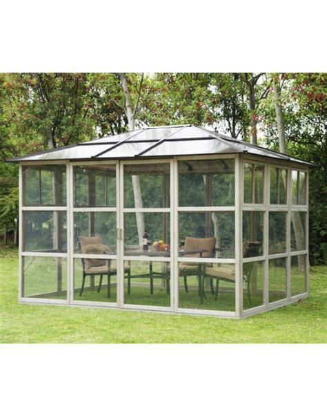 serre da giardino in legno outsunny gazebo tenda da giardino serra in alluminio