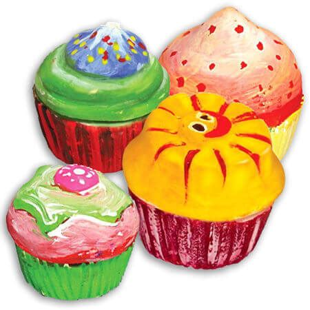 Mould Paint Cupcake craft mould paint cup cakes my wooden toys