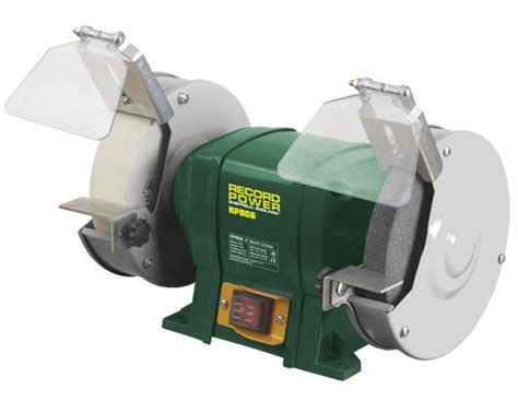 record power bench grinder record power rsbg6 6 inch bench grinder bedford saw