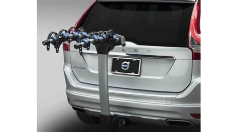 bicycle holder  towbar hitch xc  volvo cars accessories
