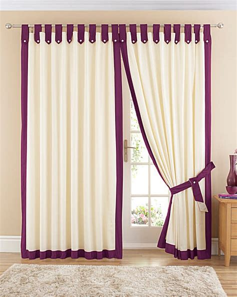 how to make tab curtains with lining claremont lined tab top curtains fashion world