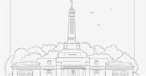 indianapolis temple coloring page julie olson books author illustrator indianapolis