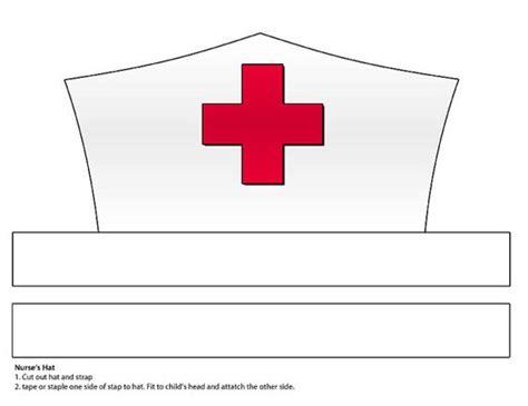 printable paper visor digital download paper nurse s hat printable parents