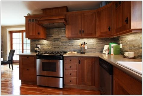 custom arts and crafts kitchen cabinets