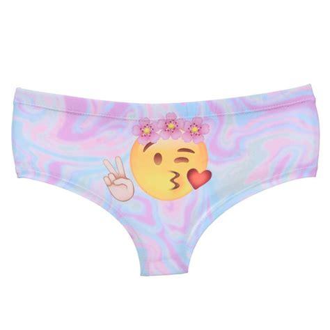 emoji underwear emoji panties peace and love just emoji