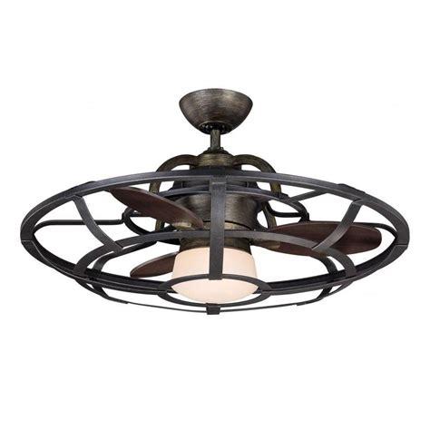 illumine aumbrie 26 in reclaimed wood indoor ceiling fan