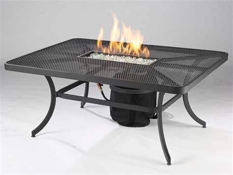 nightfire 48 inch rectangular pit table