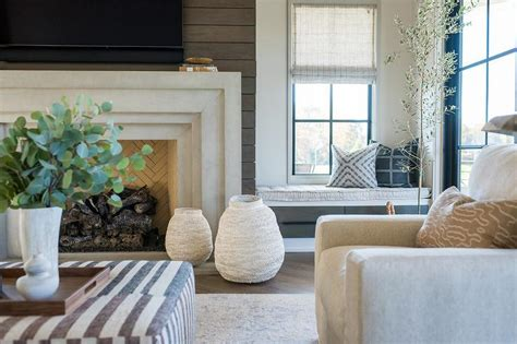 shiplap next to fireplace shiplap fireplace wall design ideas