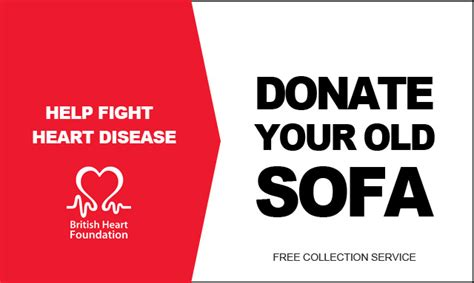 british heart foundation sofa donate your old sofa to the british heart foundation