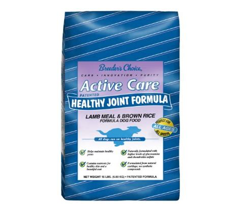 Food Bully Power Junior 11kg breeder s choice active care healthy joint formula