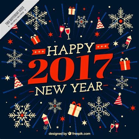 jan 2017 new year fondo vintage de feliz a 241 o nuevo 2017 con elementos y