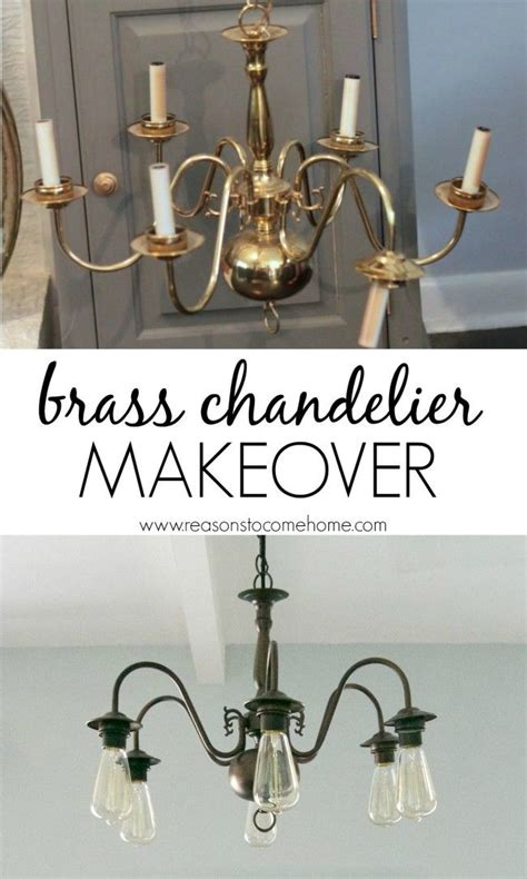 Brass Chandelier Makeover 1000 Ideas About Chandelier Makeover On Brass Chandelier Makeover Chandeliers And