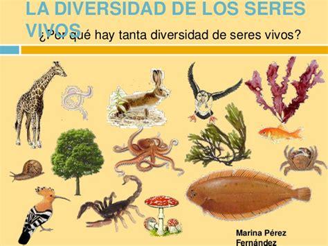 la diversidad de la la diversidad de los seres vivos