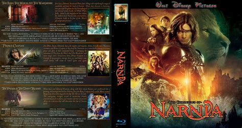 download film narnia bluray chronicles of narnia trilogy movie blu ray custom covers