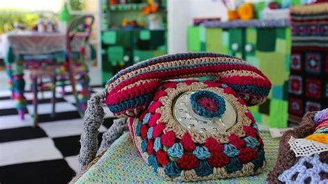 Colorful Crochet Kitchen Decor, Unique Craft Ideas for