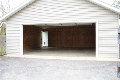 detached 2 car garage detached two car garage garage pinterest