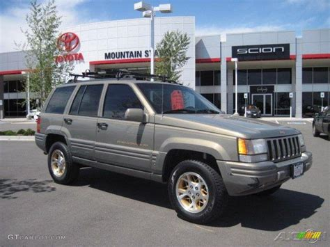 1996 charcoal gold satin jeep grand limited 4x4 29831563 gtcarlot car color