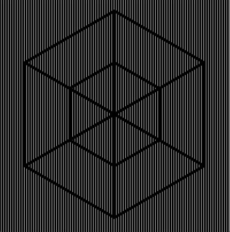 Animated Optical Illusion By Filip Hřiba Via Behance Optical Illusion Line And Color With Pic