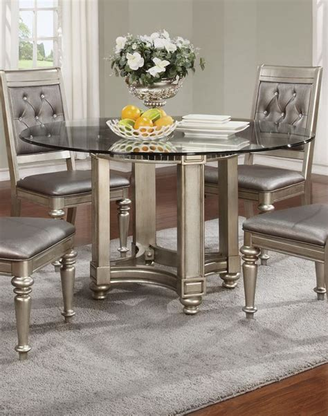 silver dining room table bling game silver dining room set for the home