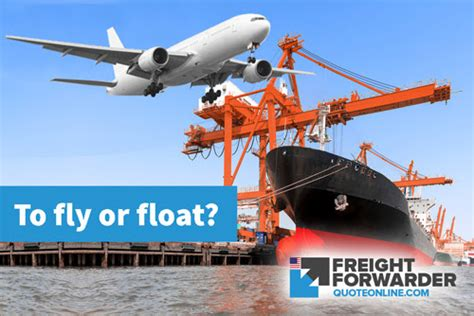 air freight vs sea freight what s the choice