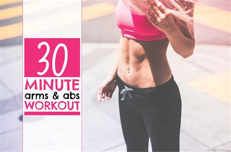 30 minute arms abs workout