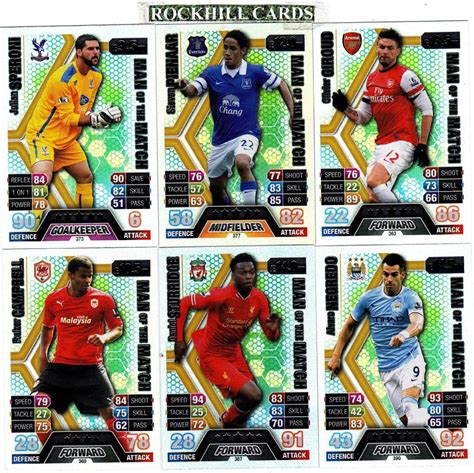 Match Attax 13 14 Choose Your Own Of The Match 361 390