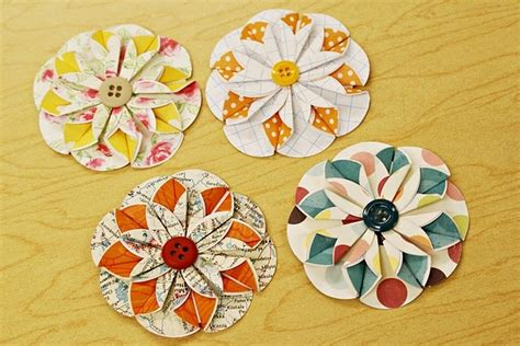 tutorial paper flowers scrapbooking 1294 best images about floral clipart on pinterest