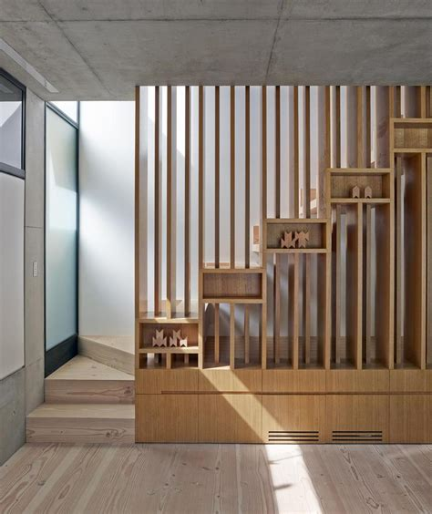 Wooden Stairs Design House With Interesting Wooden Staircase Design And Child Hideout Modern House Designs