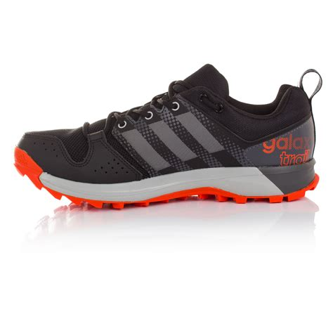 Sepatu Adidas Galaxy Trail adidas galaxy mens grey black trail running sports shoes