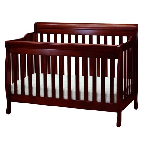 Crib Guardrail by Athena 4 In 1 Convertible Crib With Guardrail 4689c