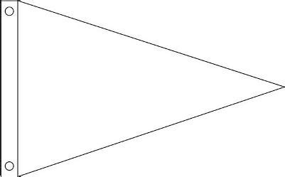 Pennant Coloring Page pennant