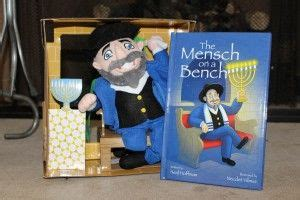 Hanukkah Version Of On The Shelf by 25 Best Ideas About Mensch On A Bench On