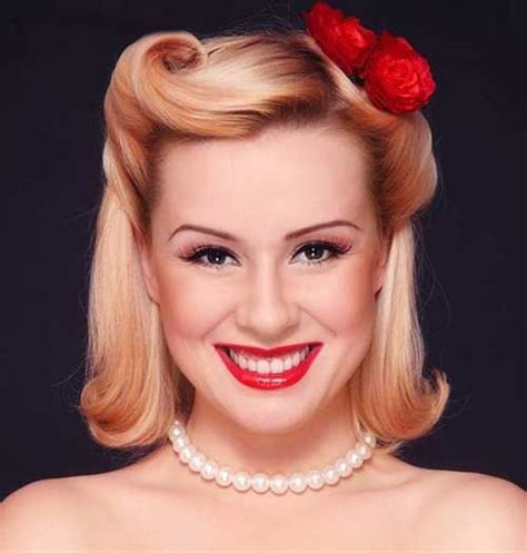 50s Pin Up Hairstyles by 50s Hairstyles For Hair The Best Hairstyles