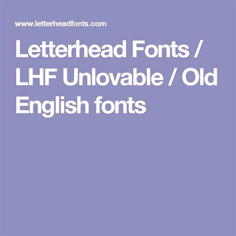 letterhead fonts lhf new english best 25 font ideas only on