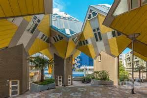 Split Level Houses Cube Houses Kubuswoningen By Piet Blom