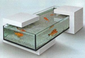 Fish Pot Decoration Choisissez La Table Basse Aquarium Pour Un Design 224 Couper