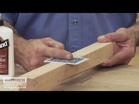 woodworking secrets woodworking tips using cauls and cards for even
