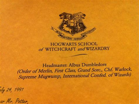 Hogwarts Acceptance Letter Set Gifts For Your Inner Harry Potter Fan Cool Gifting