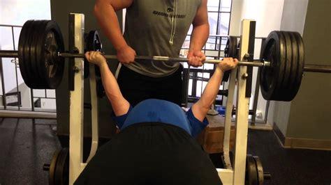 ct fletcher bench press record reverse grip bench press 405x8 drug free youtube