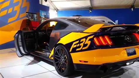 amazing 2015 ford mustang f 35 lightning ii edition