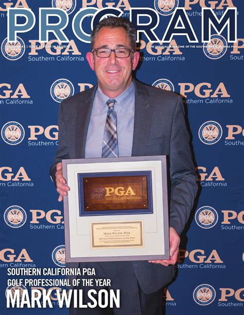 pga southern california section 2016 program magazine year in review by southern