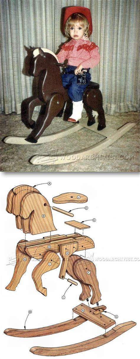 wooden rocking horse plans childrens woodworking plans