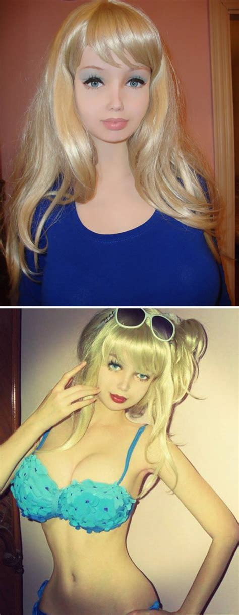 16 year old human barbie 10 real life barbies and kens oddee
