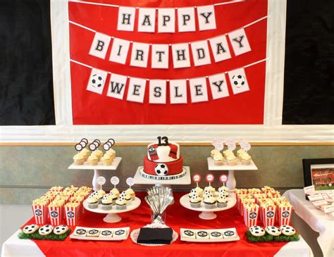 ideas manchester soccer birthday quot manchester united 13th birthday
