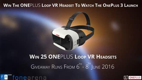 Loop Giveaway - oneplus loop vr headset giveaway winner announcement