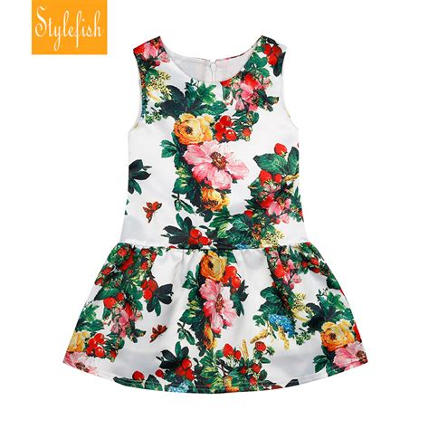 aliexpress buy 2016 new european and american style floral dress summer children