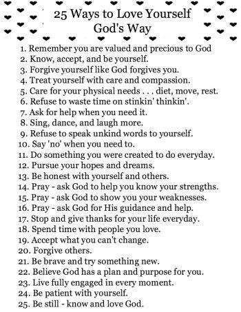 printable quotes about god 25 of the best ways to love yourself god s way free