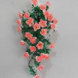 Wallpaper Sticker Dinding Kuning Bunga Mawar Bertangkai Hijau Hiasan Dinding Bunga Artificial Bunga Mawar Bunga Plastik Shopee Indonesia